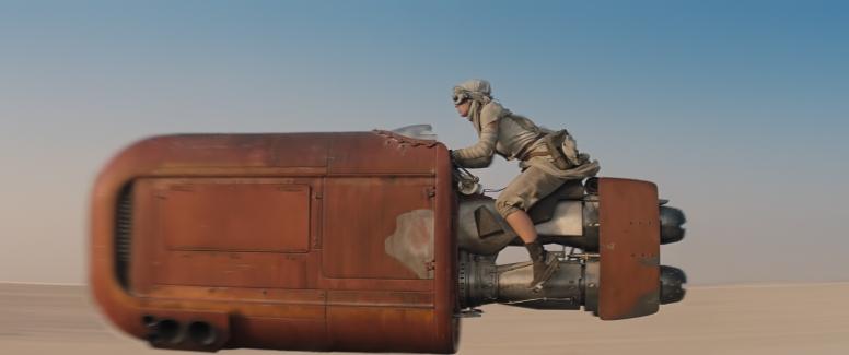 Star Wars: The Force Awakens Rey (Daisy Ridley) Ph: Film Frame © 2014 Lucasfilm Ltd. & TM. All Right Reserved.