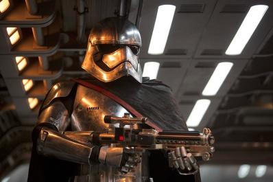 Star Wars: The Force Awakens Captain Phasma (Gwendoline Christie) Ph: David James ©Lucasfilm 2015