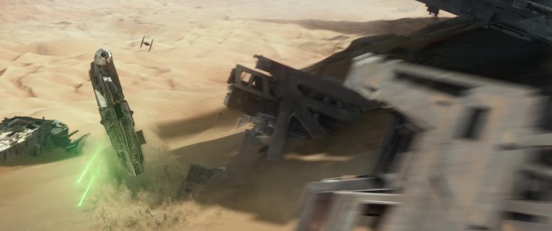Star Wars: The Force Awakens Ph: Film Frame ©Lucasfilm 2015