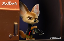 ZOOTOPIA - FINNICK, a fennec fox with a big chip on his adorable shoulder. ©2015 Disney. All Rights Reserved.