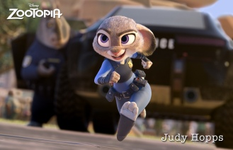 ZOOTOPIA - JUDY HOPPS, an optimistic bunny who's new to Zootopia's police department. ©2015 Disney. All Rights Reserved.