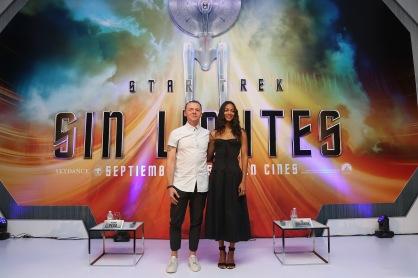 Star Trek Beyond Mexico Premiere Press Conference