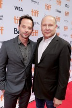 "Producer Christopher Meledandri and Nick Kroll seen at Universal Pictures ""Sing"" at the 2016 Toronto International Film Festival on Sunday, Sept. 11, 2016, in Toronto. (Photo by Eric Charbonneau/Invision for Universal Pictures/AP Images)"