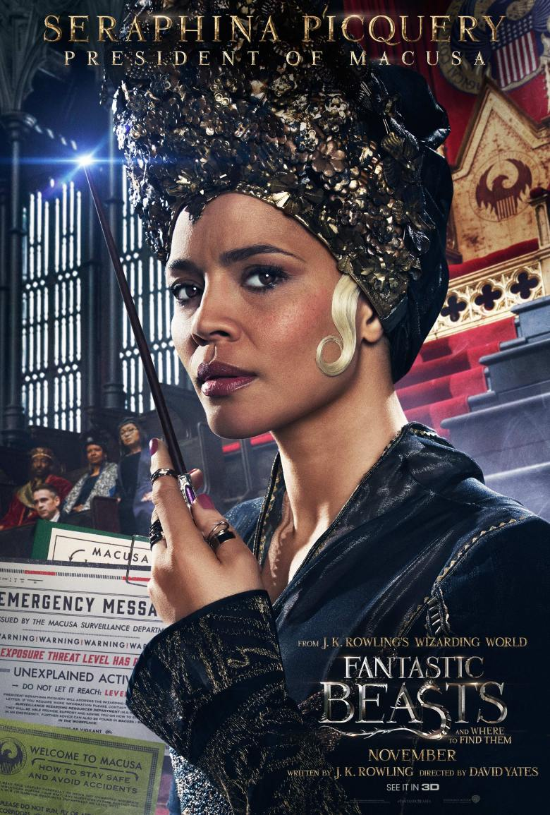 Fantastic Beasts - Seraphina Picquery Poster.png