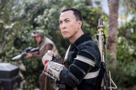 Rogue One: A Star Wars Story..Chirrut Imwe (Donnie Yen)..Ph: Jonathan Olley..© 2016 Lucasfilm Ltd. All Rights Reserved.