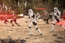 Rogue One: A Star Wars Story..Imperial Troopers..Ph: Jonathan Olley..© 2016 Lucasfilm Ltd. All Rights Reserved.