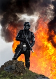 Rogue One: A Star Wars Story..A Death Trooper..Ph: Jonathan Olley..© 2016 Lucasfilm Ltd. All Rights Reserved.