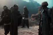 Rogue One: A Star Wars Story..L to R: Bodhi Rook (Riz Ahmed) and Benthic..Ph: Giles Keyte..© 2016 Lucasfilm Ltd. All Rights Reserved.