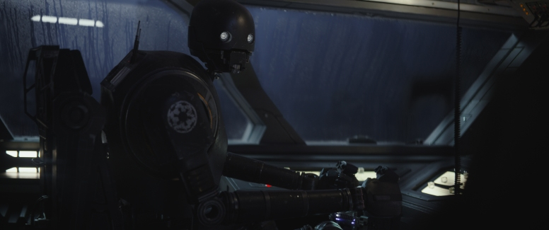 Rogue One: A Star Wars Story..K-2SO (Alan Tudyk)..Photo credit: Lucasfilm/ILM..©2016 Lucasfilm Ltd. All Rights Reserved.