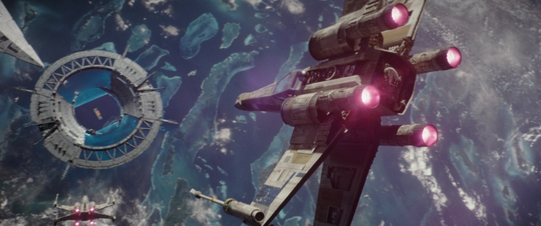 Rogue One: A Star Wars Story..X-Wing fighters..Ph: Film Frame..© 2016 Lucasfilm Ltd. All Rights Reserved.