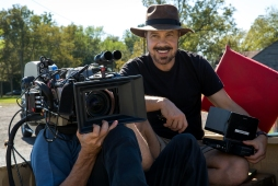 Director Edward Zwick on the set of Jack Reacher: Never Go Back from Paramount Pictures and Skydance Productions