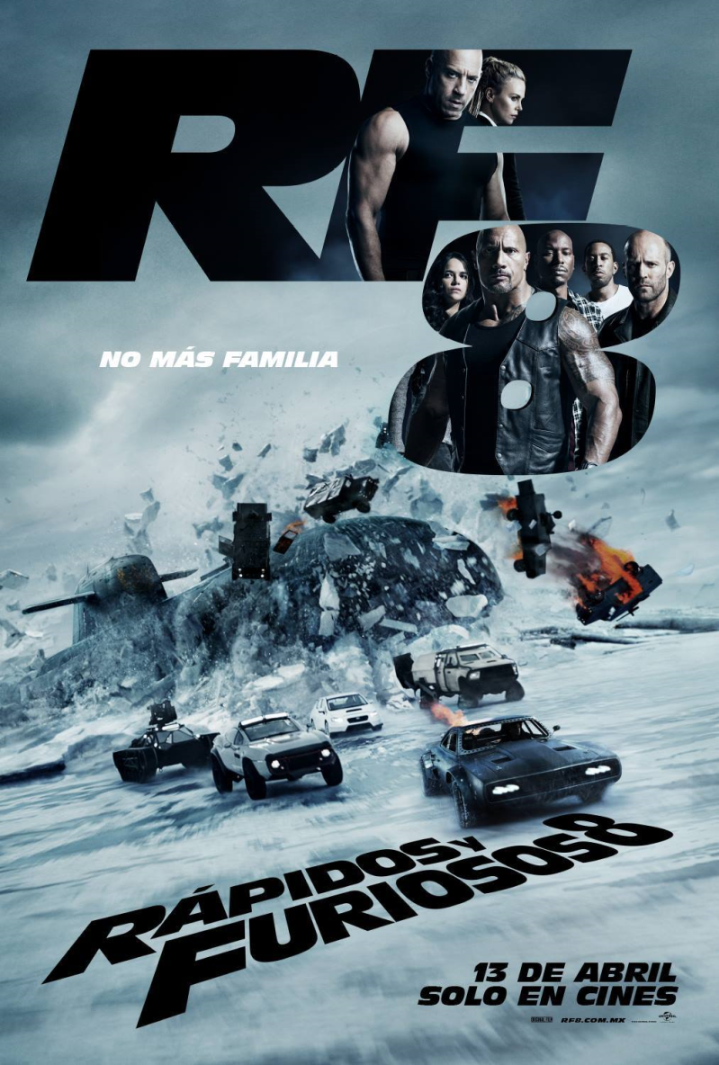 Fast and Furious 8 MX Poster 3