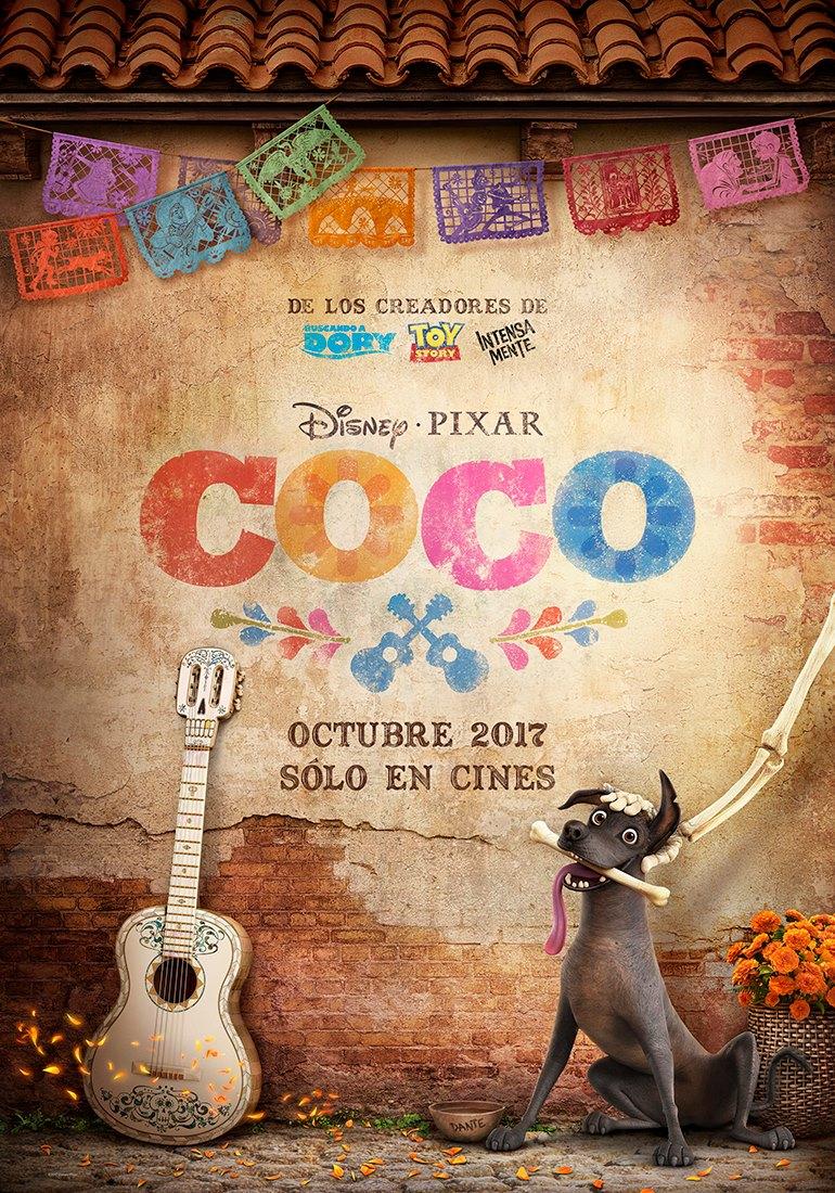 Pixar Coco MX Poster 1