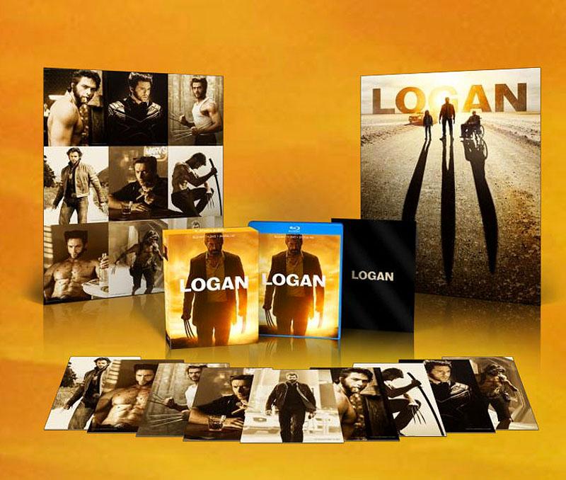 Logan US Walmart Blu-ray Poster