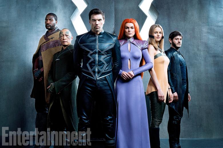 Marvel Inhumans EW Elenco