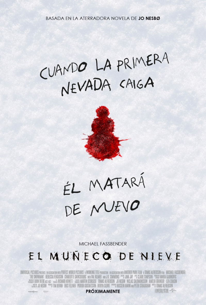 The Snowman LATAM Poster 1