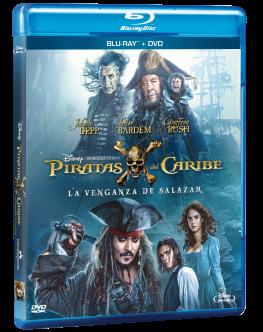 Piratas del Caribe La Venganza de Salazar Blu-ray + DVD
