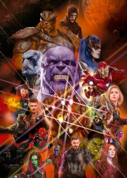 avengers infinity war nuevo vistazo