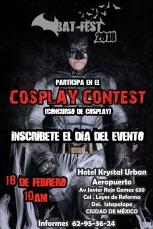 Concurso cosplay BatFest 2018