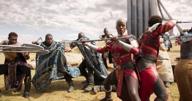 Marvel Studios' BLACK PANTHER Ayo (Florence Kasumba) Ph: Film Frame ©Marvel Studios 2018