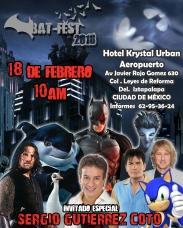 Sergio Gutierrez Coto BatFest 2018