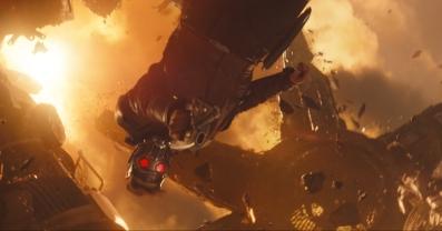 Marvel Studios' AVENGERS: INFINITY WAR..Star-Lord/Peter Quill (Chris Pratt)..Photo: Film Frame..©Marvel Studios 2018