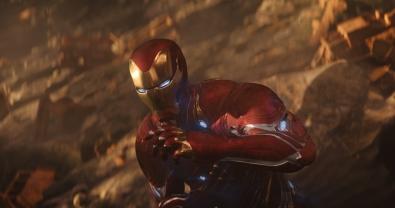 Marvel Studios' AVENGERS: INFINITY WAR..Iron Man (Robert Downey Jr.)..Photo: Film Frame..©Marvel Studios 2018