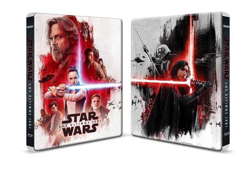 Star Wars Los Ultimos Jedi Steelbook