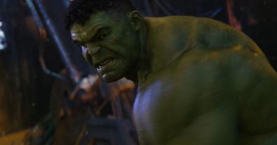 Marvel Studios' AVENGERS: INFINITY WAR..Hulk (Mark Ruffalo)..Photo: Film Frame..©Marvel Studios 2018