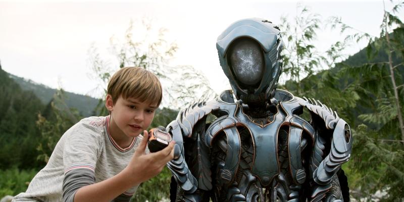 perdidos en el espacio netflix will robinson el robot 1