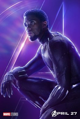 posters individuales avengers infinity war black panther