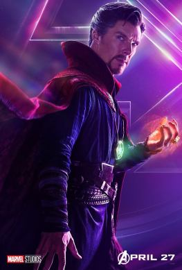 posters individuales avengers infinity war doctor strange