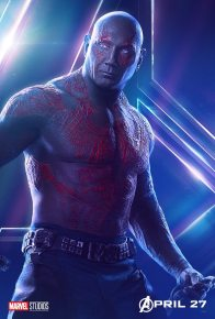 posters individuales avengers infinity war drax