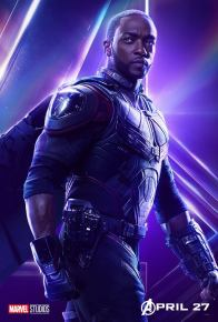 posters individuales avengers infinity war falcon