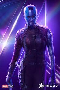 posters individuales avengers infinity war nebula