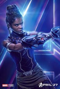 posters individuales avengers infinity war shuri