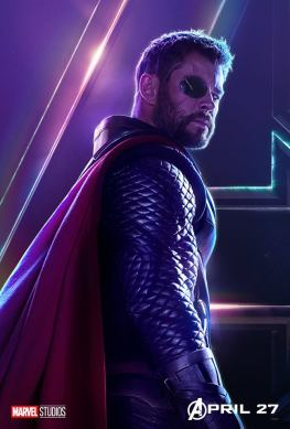 posters individuales avengers infinity war thor