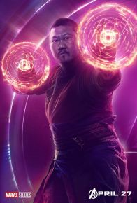 posters individuales avengers infinity war wong