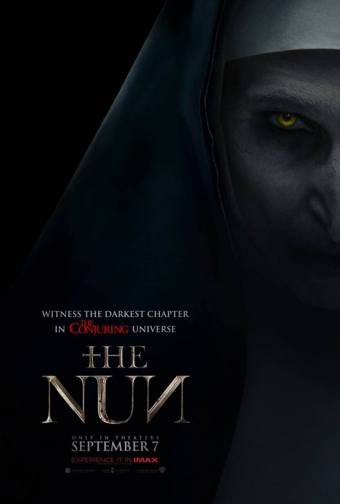 the nun poster oficial el conjuro