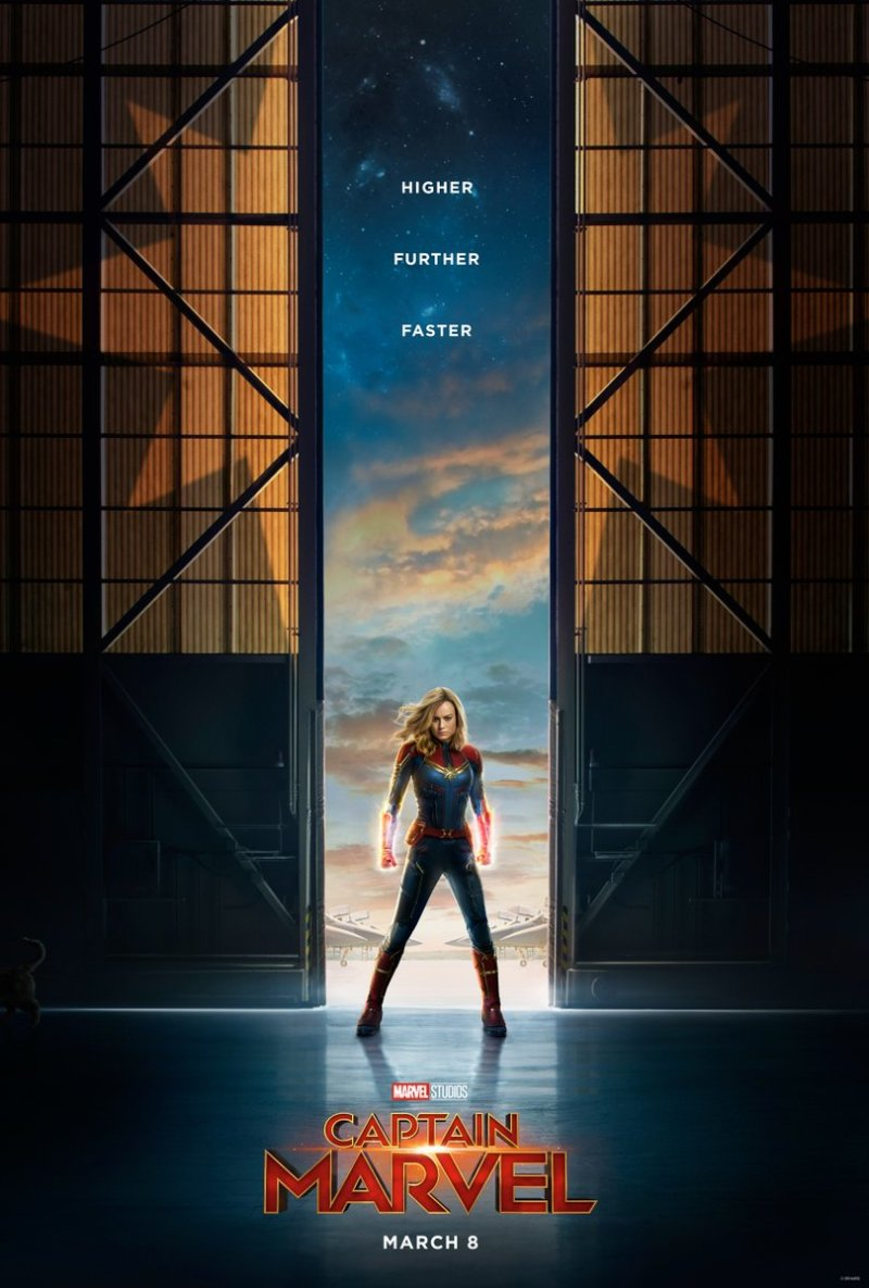 poster captain marvel esconde personaje